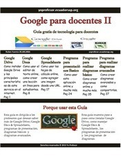 Google para Docentes 2 | Documentos de Google | Scoop.it