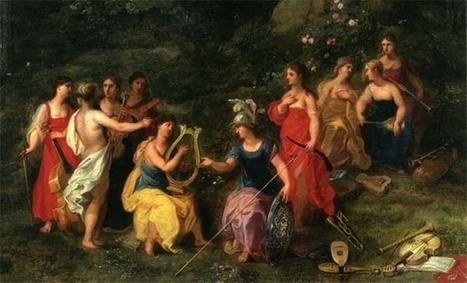 Mitología griega: Las Musas | Mitología clásica | Scoop.it