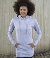 Awdis Girlie Longline Hoodie | Personalised t-shirts | Scoop.it