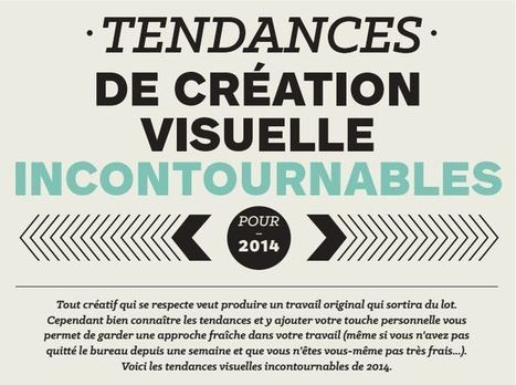 Influencia - Tendances - Les tendances incontournables de la création visuelle | Communication & Co | Scoop.it