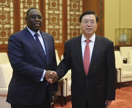 Zhang Dejiang Meets with Senegalese President Macky Sall - MFA China   Senegal   Scoop.it