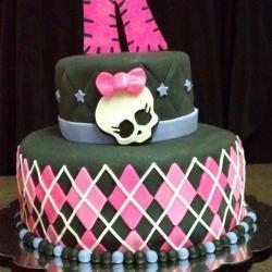 Monster High Birthday Cake and Cupcakes | birthday ideas | Scoop.it