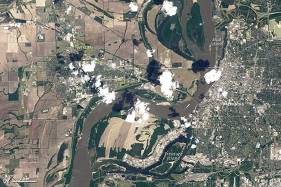 Observing Memphis Flooding from Above | Remote Sensing News | Scoop.it