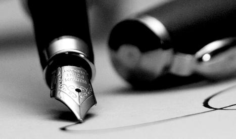 La scrittura corsiva: stimola la mente, aumenta la creatività, sviluppa la personalità | Architettura, design, arredamento: le case più belle - LIVING INSIDE | Scoop.it