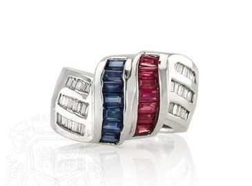 Blue Sapphire and Ruby Ring | Rings of the World | Scoop.it