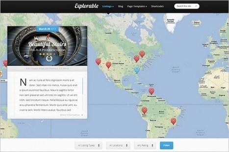 Explorable - A Location Based WordPress Theme - WP Daily Themes   Free & Premium WordPress Themes   Scoop.it