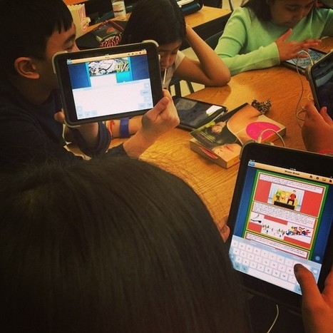 "George Waters Middle School on Instagram: ""Using Comic Life in grade 6 LA to write stories. #GWMSwpg"" 