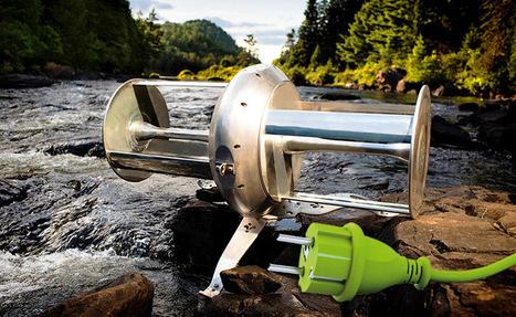 Un chalet alimenté 24h/24 en électricité par une rivière | Nouveaux paradigmes | Scoop.it