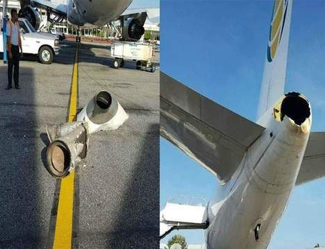 Carribean Airlines plane grounded after mishap in Guyana* | Aviation Loss Log from GBJ | Scoop.it