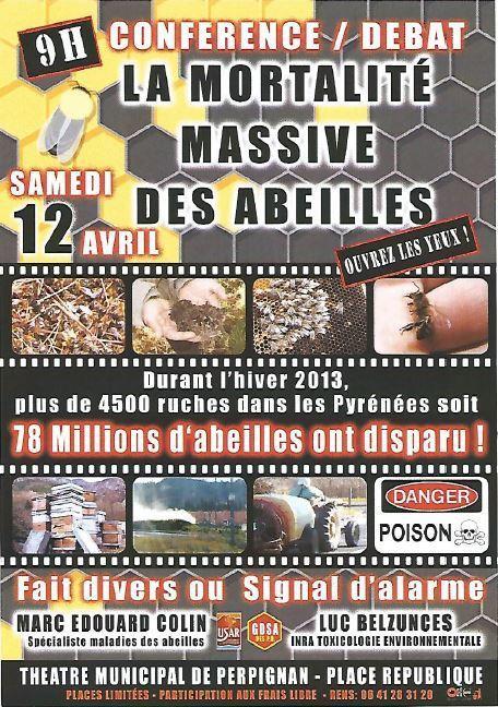 Les abeilles meurent bien intoxiquées dans les Pyrénées-Orientales | Toxique, soyons vigilant ! | Scoop.it