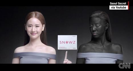 Thai beauty ad: 'Just being white, you will win' | Cultural Geography | Scoop.it