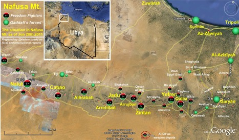 The situation in #Nafusa Mountains as of Jun 28th,2011. #Liby... on Twitpic   Human Rights and the Will to be free   Scoop.it