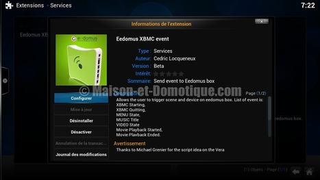 Plugin Eedomus pour XBMC | Maison et Domotique | Soho et e-House : Vie numérique familiale | Scoop.it
