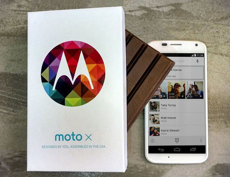 Motorola actualiza su Moto X a Android 4.4 KitKat | tecnología | Scoop.it