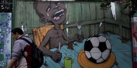 14 Powerful Pictures Of Anti-Fifa Graffiti In Brazil | São Paulo, figurações em filme e vídeo. | Scoop.it