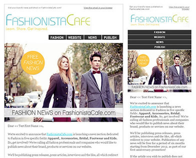 See our custom mobile friendly newsletters via responsive email templates | Responsive Email Designs | Scoop.it