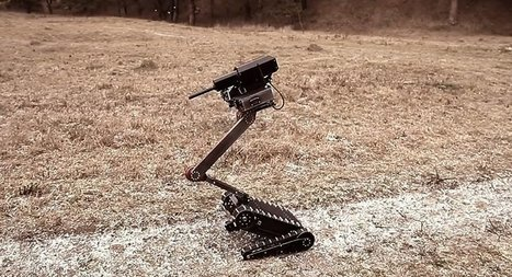 Military Prodigy: Russia Develops Advanced Light Tactical Robot | Upsetment | Scoop.it