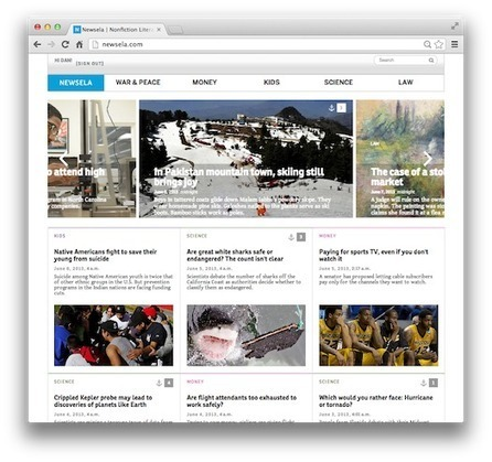 Newsela - An Innovative Way for Students to Build Reading Skills | The Browse | Scoop.it