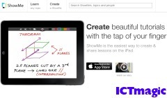 ShowMe | IPAD APPLICATIONS FOR TEACHERS | Scoop.it