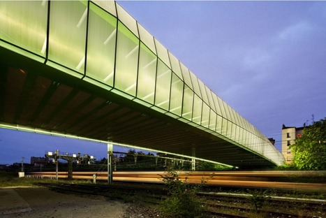 [Choisy-le-Roi, France] New Bridge in Choisy / Jacques Ferrier Architectures | The Architecture of the City | Scoop.it