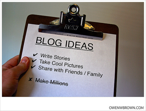 How to find blogging inspiration & 20 blogging ideas | Online Marketing Resources | Scoop.it