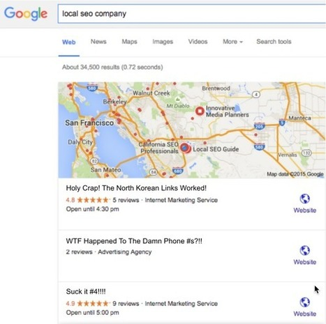 Google Switched To Local 3-Packs: Is There Cause For Alarm? | Content Strategy |Brand Development |Organic SEO | Scoop.it