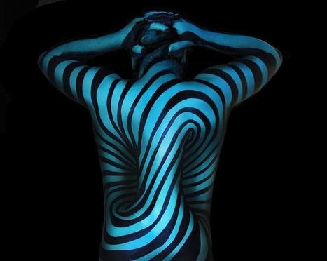 Trippy Body Painting Illusions from Natalie Fletcher | The brain and illusions | Scoop.it