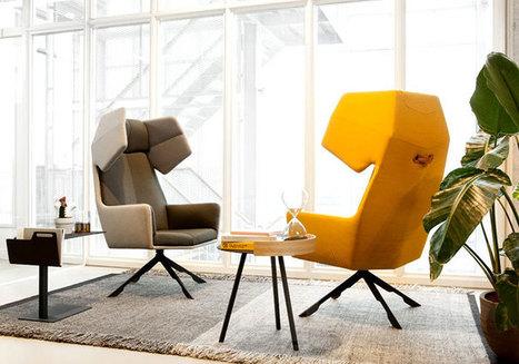 Three-Dimensional Rama Armchair by Arik Levy | Interior Design | Scoop.it
