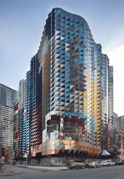 Extreme Facade of RMIT Swanston Academic Building by Lyons | Design | News, E-learning, Architecture of the future at news.arcilook.com | Architecture news | Scoop.it