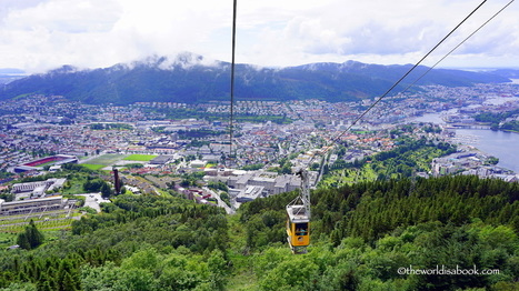 Seeing Bergen, Norway from Above - The World Is A Book | Mediterranean Cruise Advice | Scoop.it