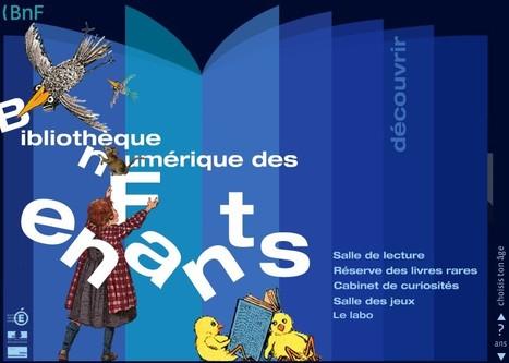 BnF - Bibliothèque numérique des enfants | Peux-tu répéter? | Scoop.it