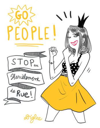 Stop Harcèlement de rue   Diglee   Egalité fille-garçon au lycée   Scoop.it