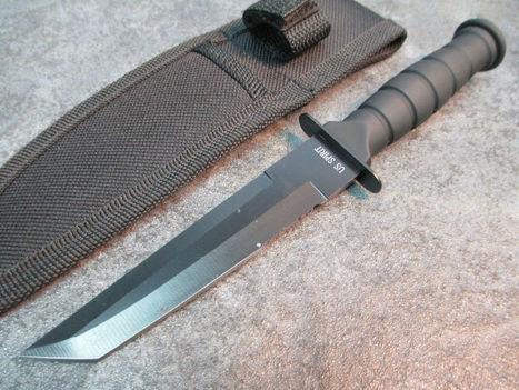 World War II US Spirit BuckShot Anniversary Tanto Knife H-4874-T zix | World war 2 | Scoop.it