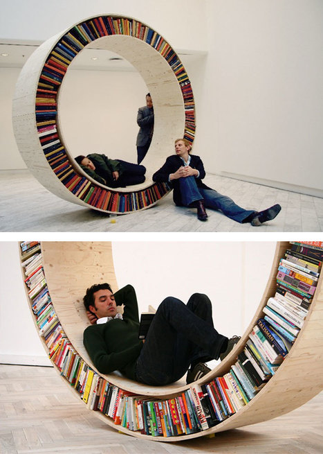 20+ Of The Most Creative Bookshelves Ever | CLOVER ENTERPRISES ''THE ENTERTAINMENT OF CHOICE'' | Scoop.it