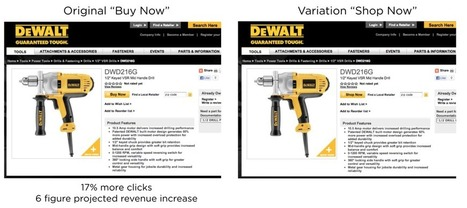 """Black & Decker Discovers Big Win in """"Buy Now"""" vs. """"Shop Now"""" Test 