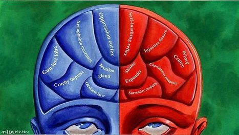 Political views are reflected in brain structure | The Middle Ground | Scoop.it