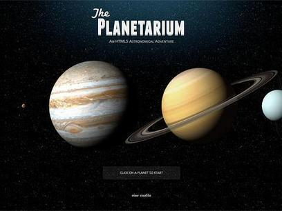 The Planetarium | UDL & ICT in education | Scoop.it