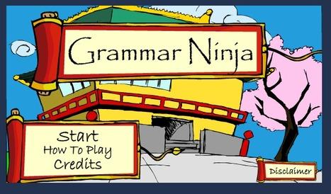 Grammar Ninja | ClioELA | Scoop.it