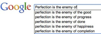 Perfection is the Enemy - Butterfly Maiden | Coaching Leaders | Scoop.it