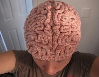 bookofjoe: Brain Hat | All Geeks | Scoop.it