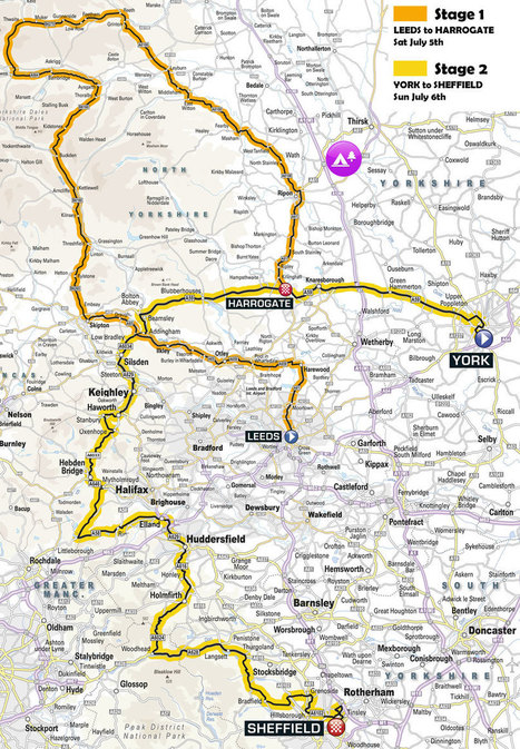 CampBiko - Camping for Tour De France Yorkshire | CycleRotherham | Scoop.it