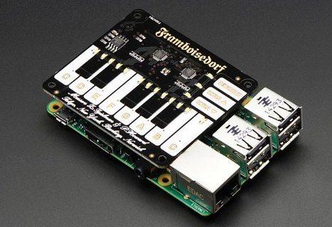 Pimoroni Piano Raspberry Pi HAT - Geeky Gadgets | Raspberry Pi | Scoop.it