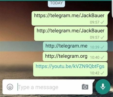WhatsApp bloquea los enlaces a la competencia   jose alfocea   jalfocea   Scoop.it