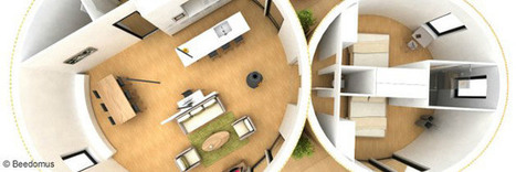[construction] Une maison bois passive toute ronde | Le flux d'Infogreen.lu | Scoop.it