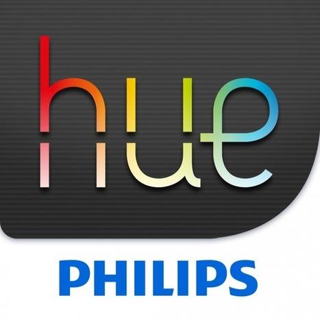 L'ampoule Philips HUE contrôlable par iPhone - Domotique iPhone | veille | Scoop.it