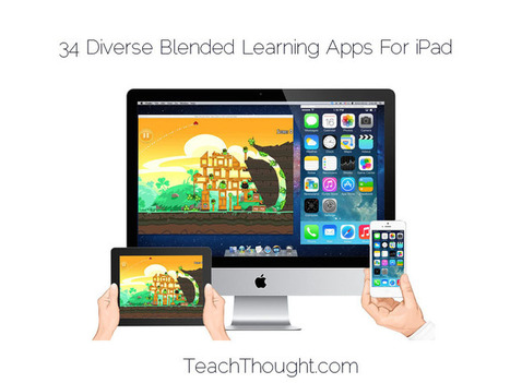 34 Diverse Blended Learning Apps For iPad - TeachThought | elearning | Scoop.it
