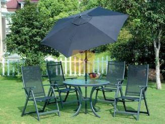 PI-152 mesa y sillas de jardin con sombrilla | Hogar y jardin | Scoop.it