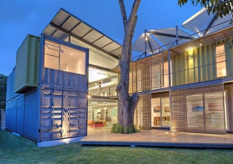 Maria Jose Trejos designs a shipping container home in Costa Rica | Inspired By Design | Scoop.it