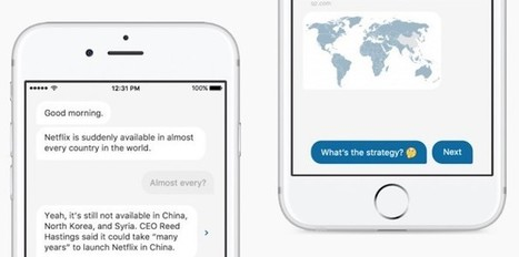 With an interface that looks like a chat platform, Quartz wants to text you the news in its new app   journalisme plurimédia   Scoop.it