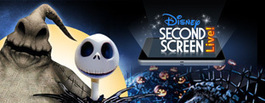 Tim Burton's The Nightmare Before Christmas Second Screen Live « Disney D23 | screen seriality | Scoop.it